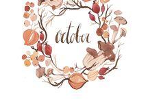 jesień/planer/kalendarz