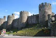 Medieval Castles / A pin board to allow you to discover medieval castles