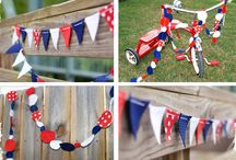 Red white blue / by Cupcake Von sparkles