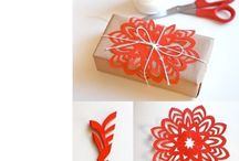 Gift wrapping / Gift ideas - Gift wrapping ideas