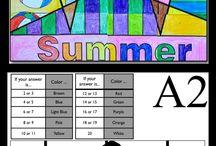 zomer thema