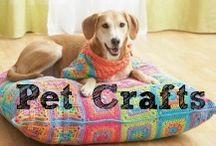 Pet Crafts / Make these DIY Pet Crafts inspired by furry friends! From pet toys to kids' crafts, there is a pet project for everyone. / by Pat Catan's Arts & Crafts