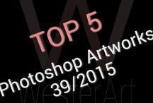 TOP 5 Photoshop Artworks weekly