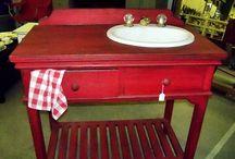 Re-purposed Furniture