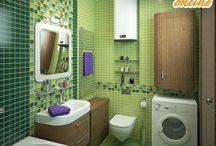 Дизайн ванной / идеи обустройства ванной