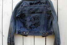 Painted Denim Jacket