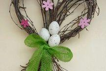 Velikonoční věnce a vazby
