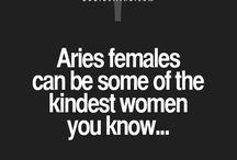 Just Aries things...
