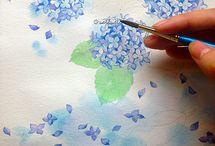 Watercolour: Flowers