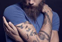 Inked Guys / A man with tattoos...fhjkcfgjkvdj