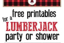 Lumberjack birthday