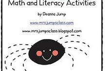 games math/literacy / by Lisa Marthaller