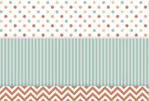 Printable: Patterned Paper / by June Loo