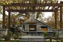 Stone Fireplace  / Fire and Stone go Hand in Hand