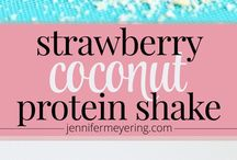 Protein Shake/Booster Drink Recepies