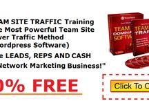Team Site Traffic Sign Up / Team Site Traffic  - A Complete  Training System And Wordpress Software Package To Build Replicated Team Sites - Turning Ordinary Marketers Into Extraordinary Marketers