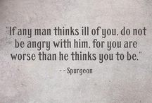 CH Spurgeon / Quotes by CH Spurgeon