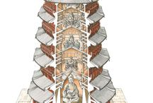 Architectural Images of Buddhist Temples