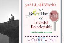 Dua to Stop Haram Unlawful Relationship