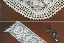 Hekling/crochet / Mønster/patterns