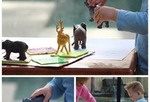 Invitations to play! / Fun ideas to encourage children to play and explore!