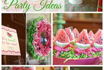 Daria's first birthday ideas!