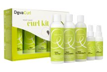 Must Have Curl Kit / This limited edition, five-piece kit of DevaCurl favorites works with all curl types. It's a mix of essentials for cleansing and conditioning, as well as our best-selling styling products to give you a range of gorgeous possibilities. Whether you want softness, definition or hold, mix and match to create your perfect curls. / by DevaCurl