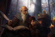 Волшебник, Наставник