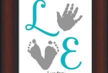 baby footprint crafts