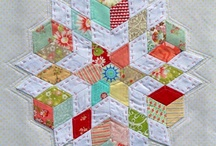 English paper piecing / by Leanne Platt