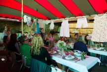 Baby shower @ Searle's in Greyton