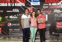 V FESTIVAL DE MÚSICA DE CIUDAD DE LA RAQUETA / Os mostramos algunas imagenes del concierto solidario que se celebró en Madrid, y en el que nuestros ganadores pudieron disfrutar de las canciones de Hombres G