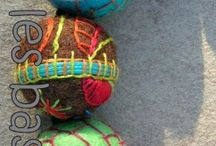 Felt Beads
