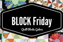 BLOCK Friday: Quilt Blocks!