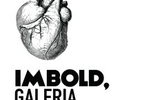 Imbold Gallery / Imbold, Gallery is an ongoing project of the Imbold Association and an independent space of contemporary art. The gallery space is doubled by the loft, Acuarela – Bistro de Arte.