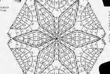 Horgolt 6szögek