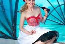 Katerina Katonik Pin-Up / My own pictures in pin-up style