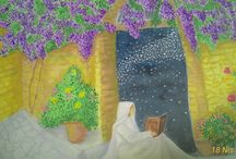 kendi resimlerim / my drawings and paintings
