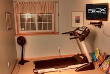 Home Workout Room Ideas / Fitness workout space in your home