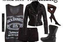 Sarah Manning Would Wear This. / Black//Grunge//Street Style