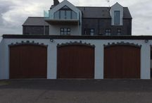Garage Doors / Ash garage doors made bespoke for a clients home