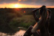 východ slunce akt