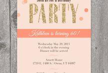 Invitations - Einladungen