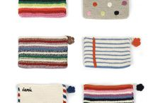 Crochet pencil case, purse coin / by Míriam Folguera