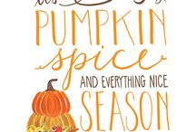 Fall, spice and everthying nice ...