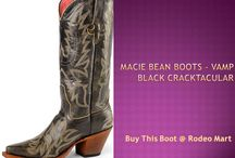 Women Cowboy Boots / Rodeo Mart offers you Macie Bean women Cowboy Boots in very cheap price. We have wide range of women boot collection  in very stylish and eye-catching design and color.  Check out our collection --  https://www.rodeomart.com/Macie-Bean-Women-s-Cowboy-Boots-s/2079.htm / by Rodger Hawes