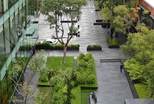Offices / Corporate Parks / Rental rates increase by up to 7% for offices with quality landscaping that includes trees.  The calming effect of nearby trees can significantly reduce workplace stress levels and fatigue and can even improve office worker's job satisfaction.
