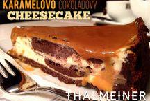 Čízkejky, Chézekáky, Čízké Dorty. Cheesecakes. / Cheesecake je najobľúbenejší a najfotogenickejší koláčik na svete!