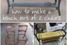 meubels zelf maken, opknappen