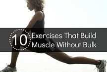 Build Muscle / The key to lasting muscle gain is a combo of protein-rich foods and plenty of rest and recovery time between strength-training workouts